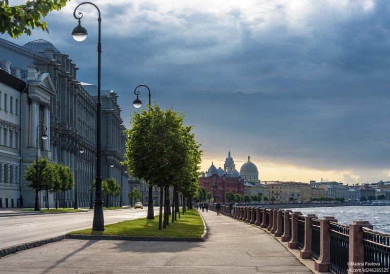 город, санкт-петербург,городской пейзаж,набережная макарова После дождя...photo preview