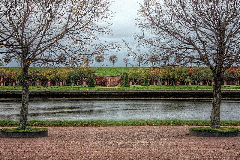 петергоф, петродворец, вода, дерево, деревья, парк parklandphoto preview