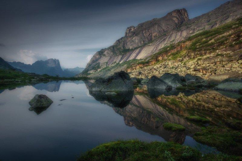 ергаки, горы, саяны, западныйсаян, сибирь, фототур На озере Горных Духов фото превью