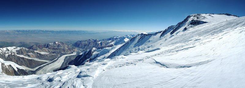 памир, горы, ленин, альпинизм, 7134, киргизия, кыргызстан, мал, заалай Высота 6850photo preview