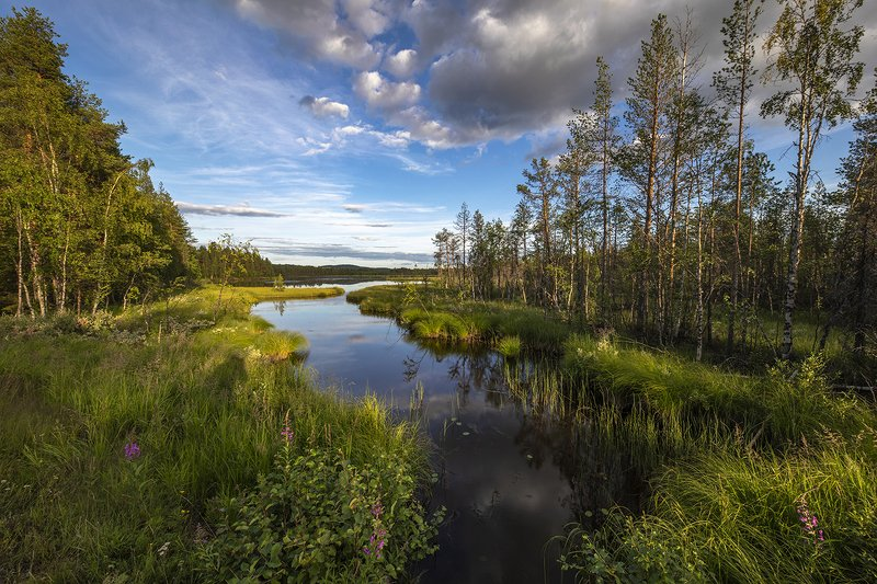 швеция Северное озероphoto preview