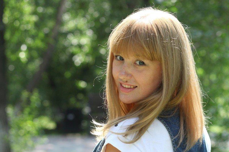 портрет, лето, люди, взгляд, красота Ольгаphoto preview