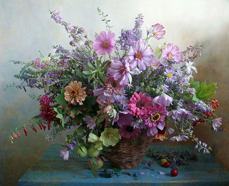 лето,  цветы, натюрморт, марина филатова Нежный трепет волшебных цветовphoto preview