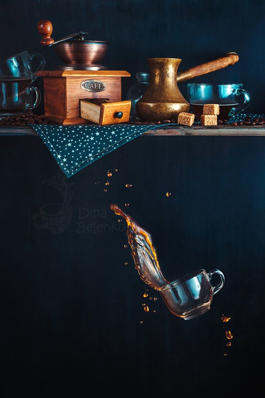 food, tea, coffee, milk, still life, creative, splash, motion, action, spill, beauty From the top shelfphoto preview