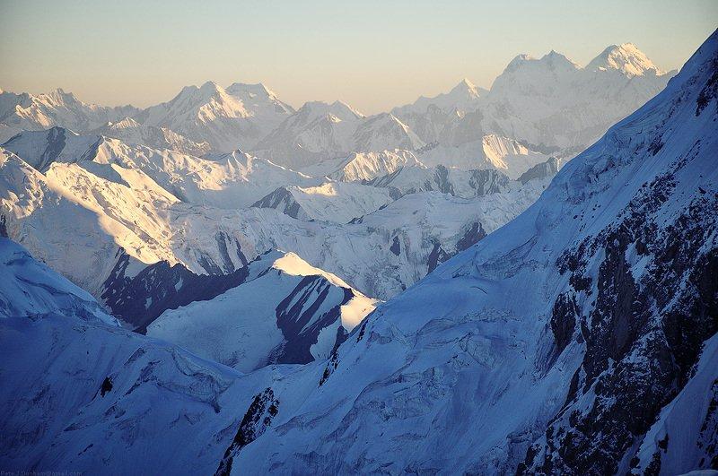 памир, горы, ленин, альпинизм, 7134, киргизия, кыргызстан, мал, заалай, таджикистан Лагерь 3, 6100 м.photo preview