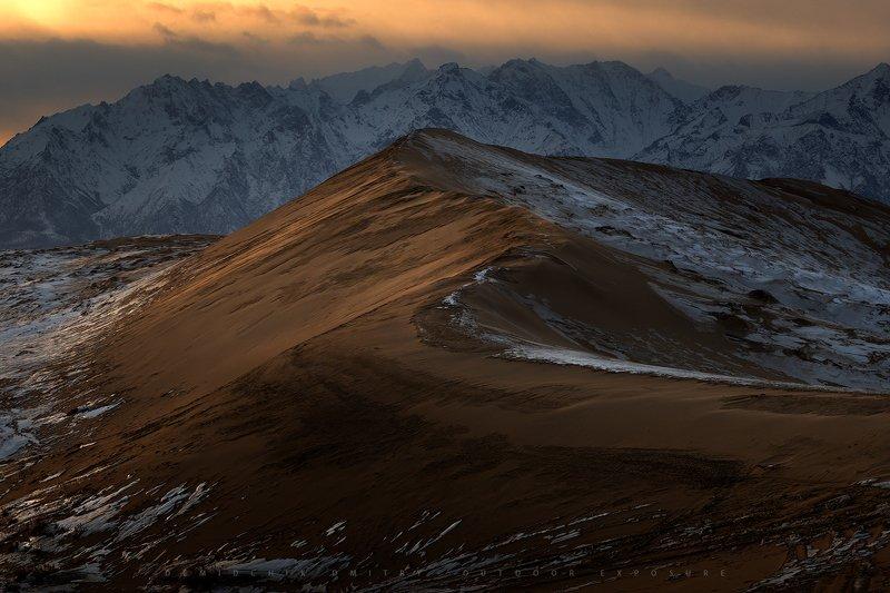 #кодар, #пески, #чара, #горы, #дюна, #закат, #облака Dunephoto preview