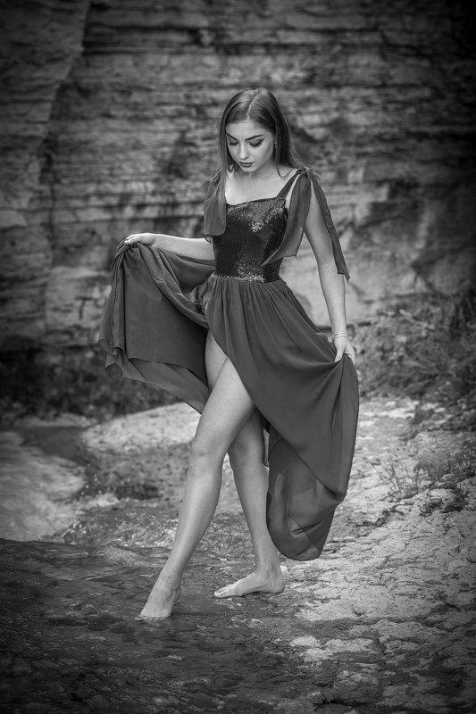 девушка, модель, вода, гламур, вечер, пленэр НИМФАphoto preview