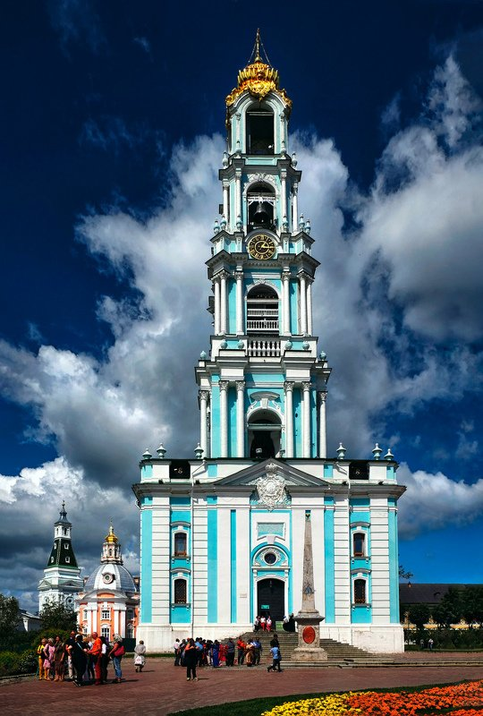 звонница, колокольня,православие, христианство, троице-сергиева лавра, сергиев посад, архитектура ***photo preview
