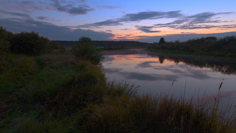Летним вечером у рекиphoto preview