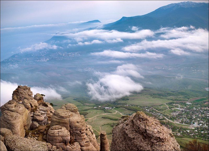 крым, демерджи ...пролетая над облакамиphoto preview