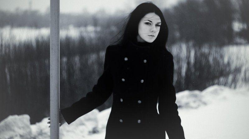 девушка, мрачно, черный, darkwave, минор Дарквэйвphoto preview