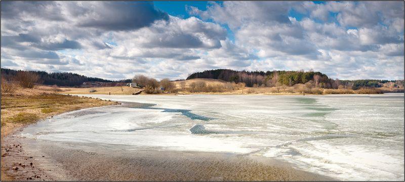 весна, лед, дубровинское Межсезоньеphoto preview
