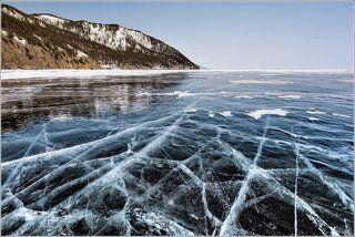 Весенний пейзаж Байкала