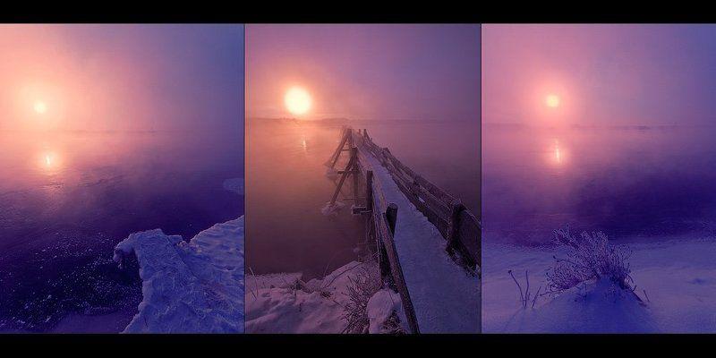МОРОЗ И СОЛНЦЕ. ТРИПТИХphoto preview