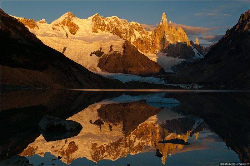 patagonia, argentina Cerro Torre.photo preview