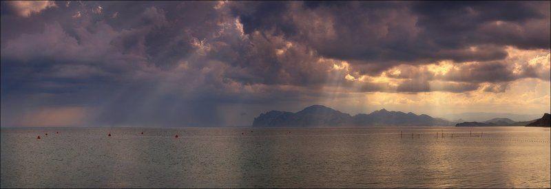 крым, орджоникидзе, море, Игры светаphoto preview