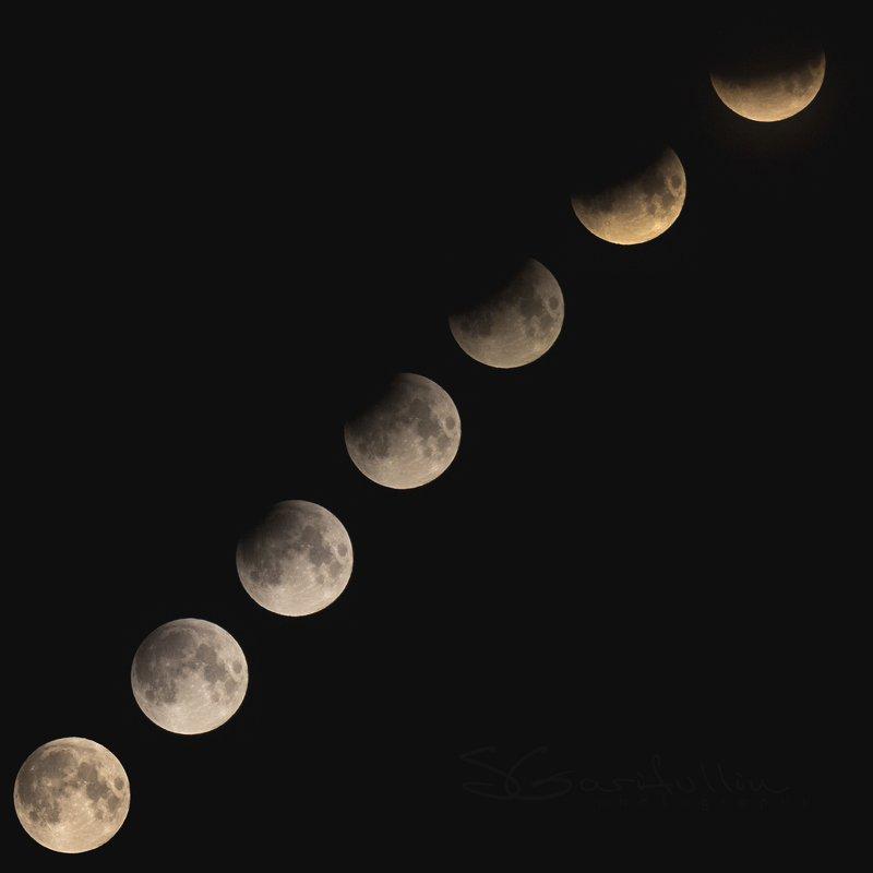 Затмение, лунное затмение, луна, серия Лунное затмениеphoto preview
