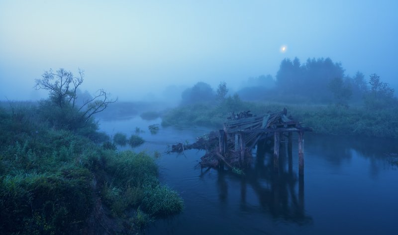 Глубина тумана ...photo preview