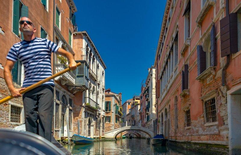 венеция, гондола, италия, гондольеры Каналы Венецииphoto preview