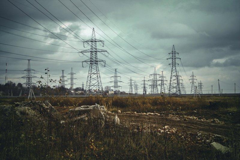 осень, провода, электричество closer to civilizationphoto preview