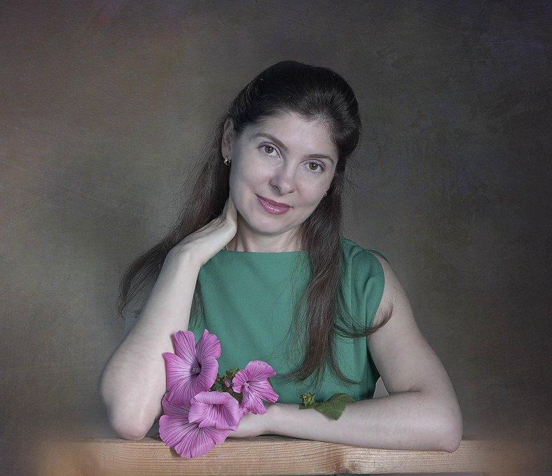 портрет,девушка, Иринаphoto preview