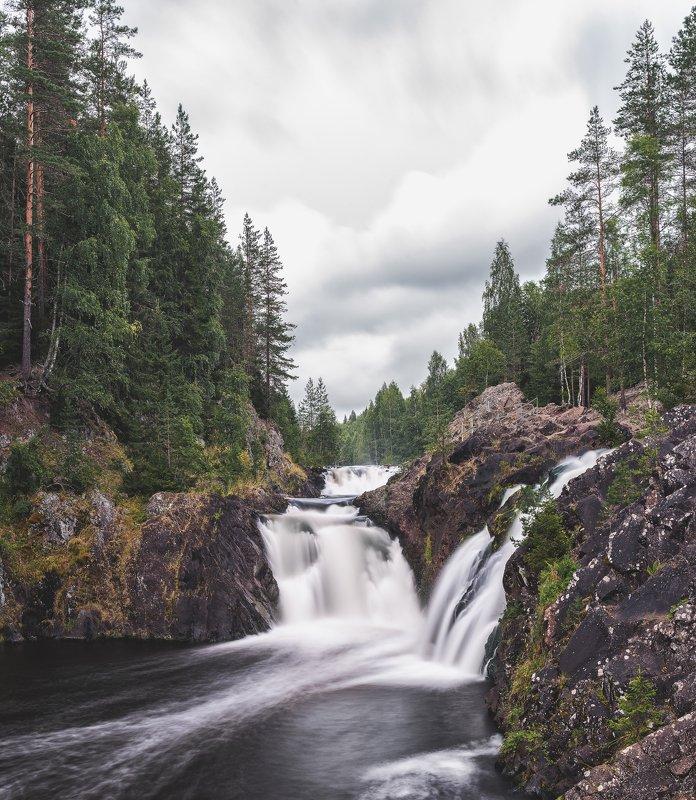 карелия, пейзаж, водопад, россия,  Водопад Кивачphoto preview