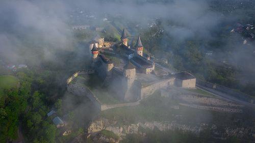 Каменец-Подольская крепость.