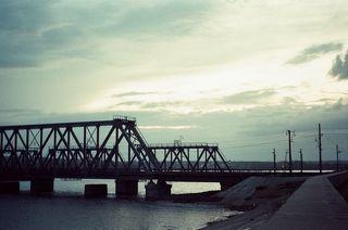 Мост.Снято на плёнку)