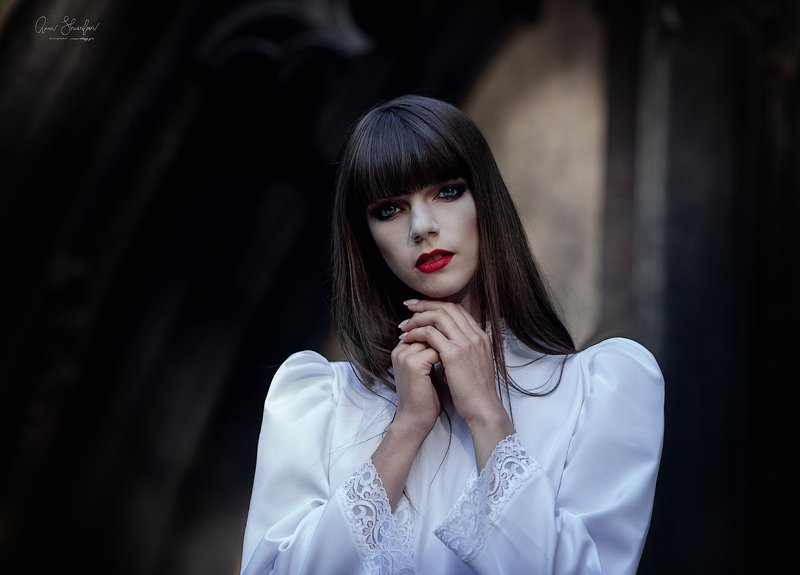 портрет красота девушка арт по ту сторонуphoto preview
