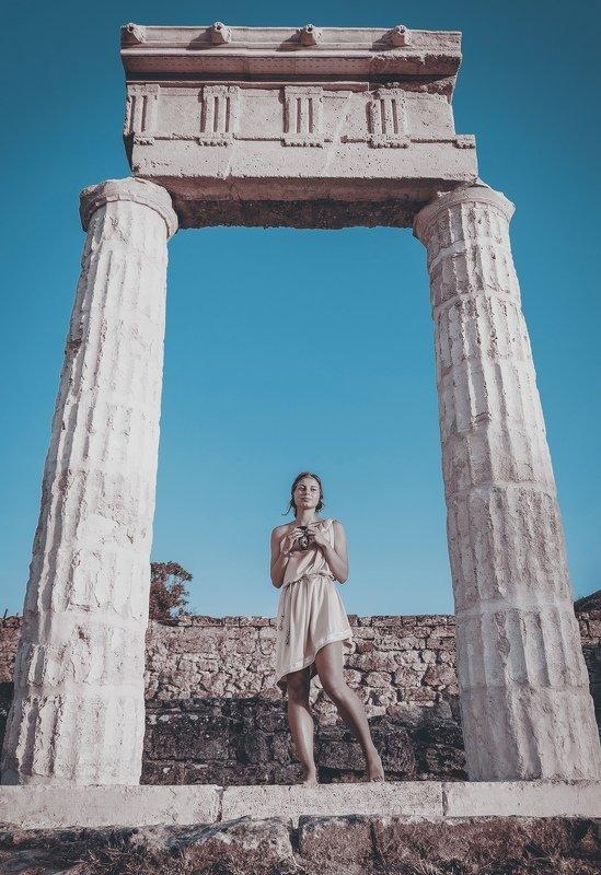 древность, античность, богиня, деметра, пританей, пантикапей, боспорское царство, керчь, крым, россия ДЕМЕТРА: РИТУАЛ.photo preview