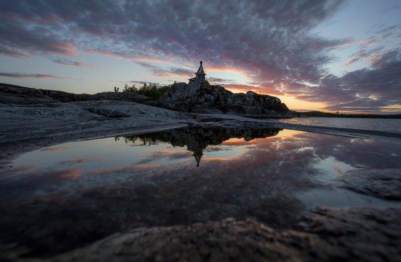 ладога, белая ночь, шхеры, рассвет ,карелия Пусть дольше века длится деньphoto preview