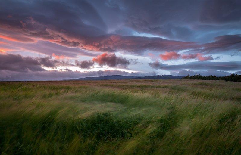 пейзаж,закат,россия,апатиты,кольский,север,горы,небо,лето на закатеphoto preview