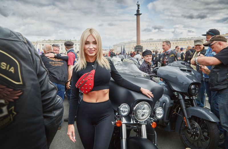 портрет, стритфото, жанр, rekhov фестиваль Harley Davidson in Saint-Petersburgphoto preview