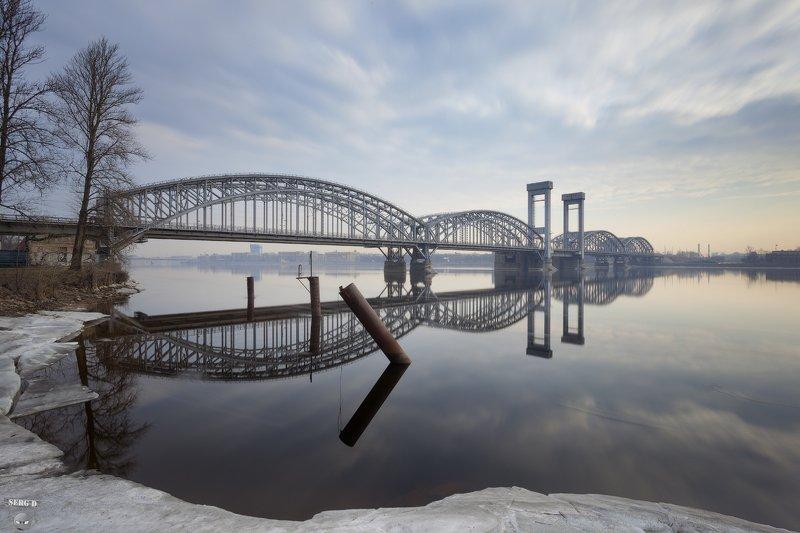 Финляндский железнодорожный мостphoto preview