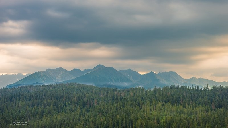 landscape, mountain, summer, holiday, nature, sunset, storm clouds, rocky mountains, high peaks Tatry wysokie ... 2019rphoto preview