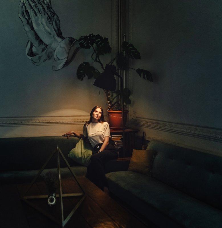 girl, portrait, beautiful, light Жаннаphoto preview