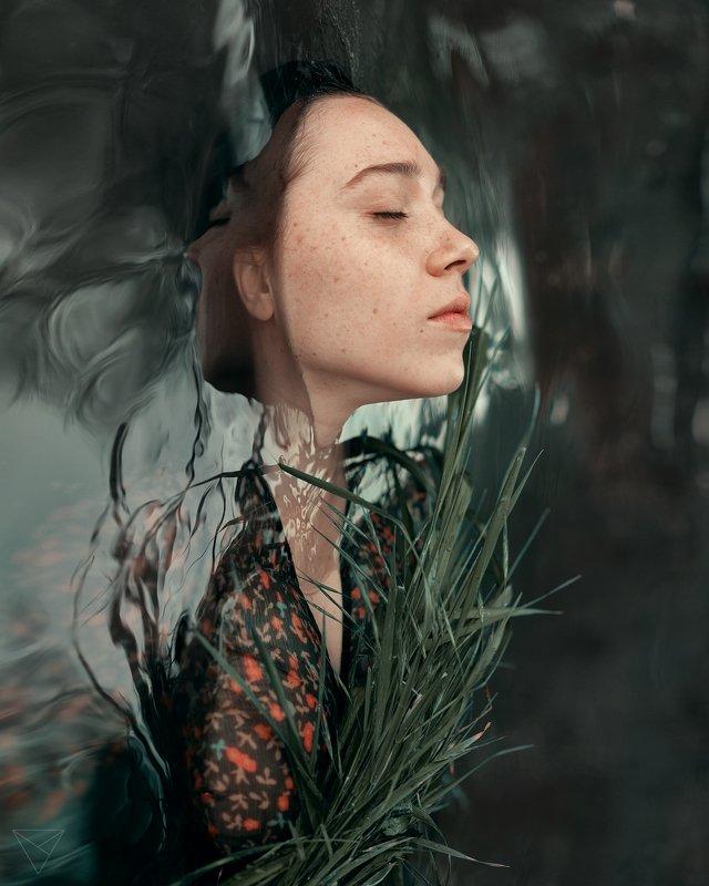 Женский портрет, портрет, природа, portrait, women, красивый портрет, взгляд, вода Сашаphoto preview