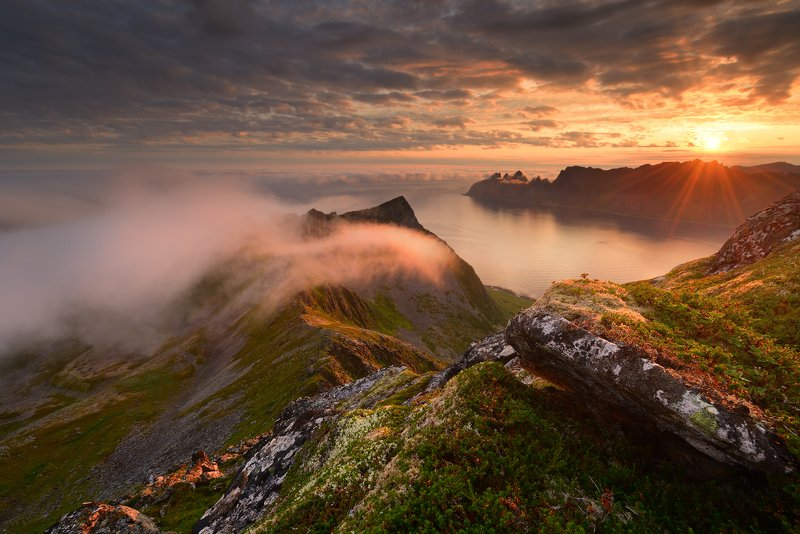 Husfjellet, Senja island, Norwayphoto preview