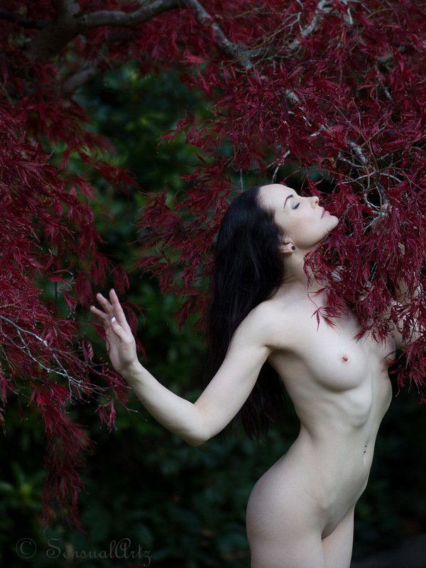 anne, fall, nude, female Fallphoto preview