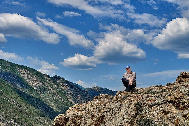 пейзаж, горы, лето, Горный Алтай  Про Горный Алтай. photo preview