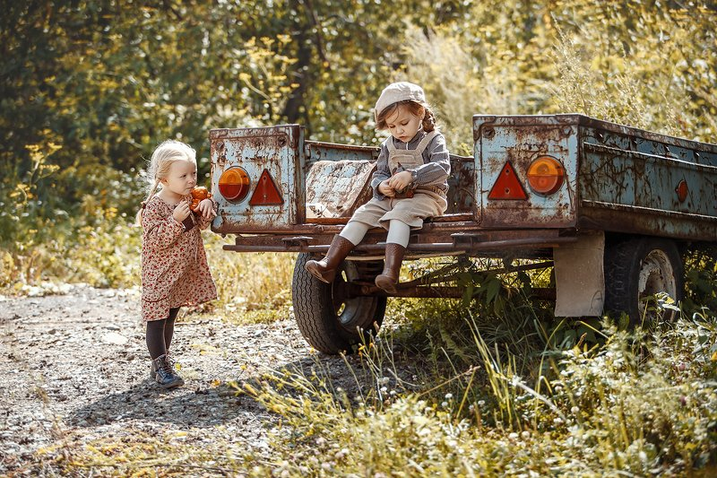 Детские истории или ностальгия по ушедшему детству.photo preview