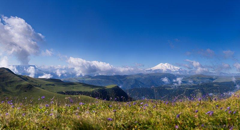 эльбрус, горы, рассвет, карачаево-черкессия, кавказ, шаджатмаз, утро С добрым утром!photo preview