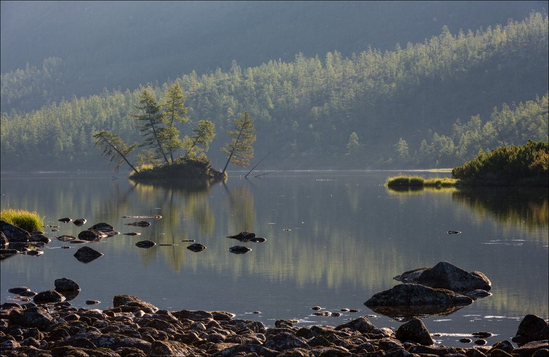 Осень на озере Джека Лондонаphoto preview