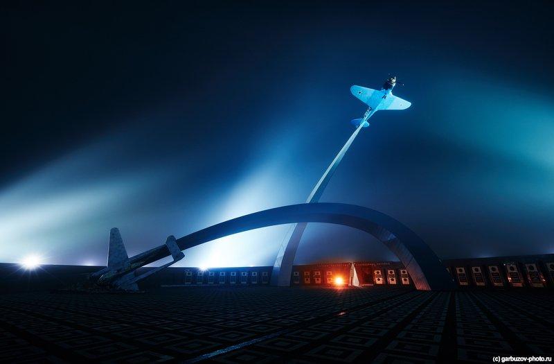 Мемориал «Защитникам неба Отечества» в тумане, Тулаphoto preview