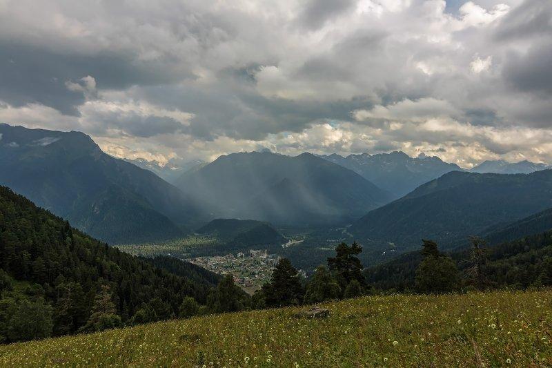 горы, облака, кавказ мелодия гор...photo preview