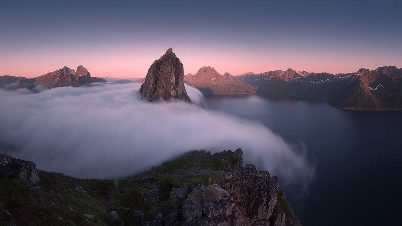 норвегия сенья сегла туман Плывущий туманphoto preview