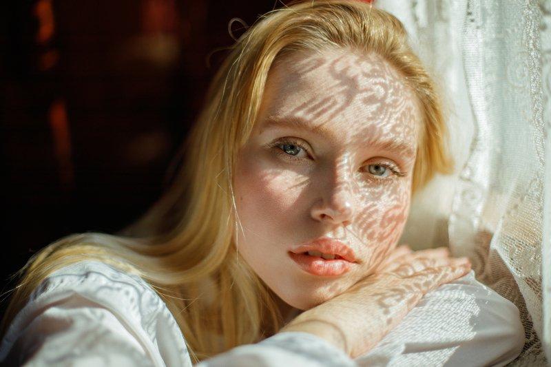 portrait, портрет, girl, blonde, portraiture, outdoor, девушка, молодость, май, весна, spring, patterns, retouch, ретушь, цвет, canon Ksyuphoto preview
