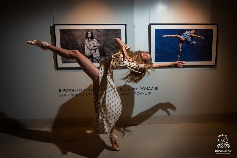 балерина, выставка, Новосибирск, Михаил Решетников Балет на выставке фото превью