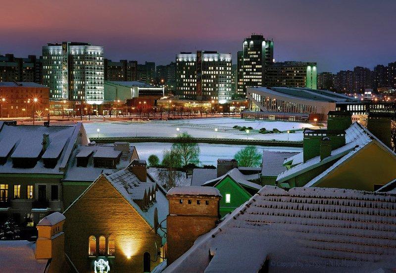 беларусь, город, минск, вечер, фотосфера-минск Вспоминая молодость из АЛя лихих девяностых...photo preview