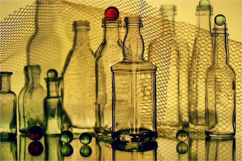 стекло, бутылки, натюрморт, Про стекло.photo preview